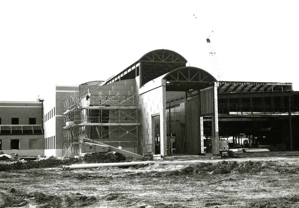 Construction of the Southeast campus