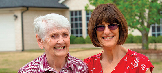 Evelyn Doyle and Renee Ware