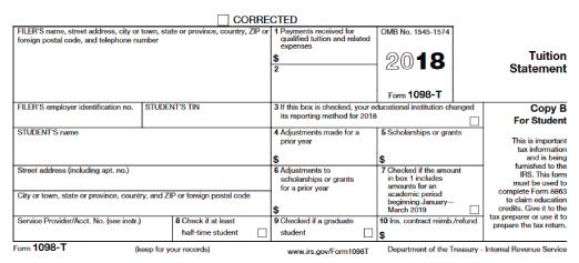 1098t Tax Form