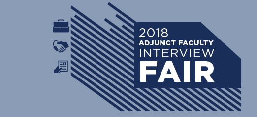 Adjunct Interview Fair
