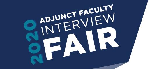 Adjunct Interview Fair