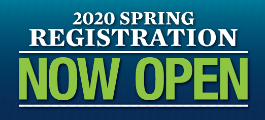 Register for Spring 2020 Classes