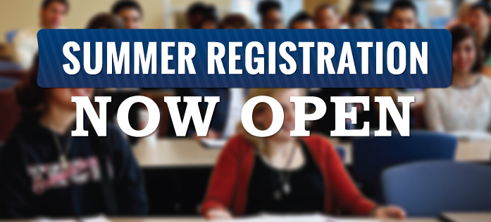 Register for Summer Classes