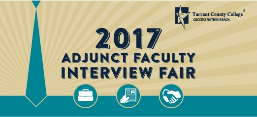 2017 Adjunct Faculty Interview Fair