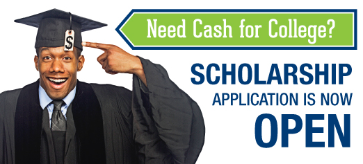 Scholarship application is now open