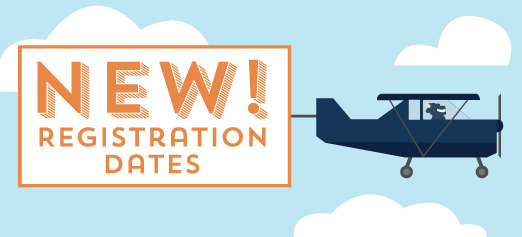 New Registration Dates