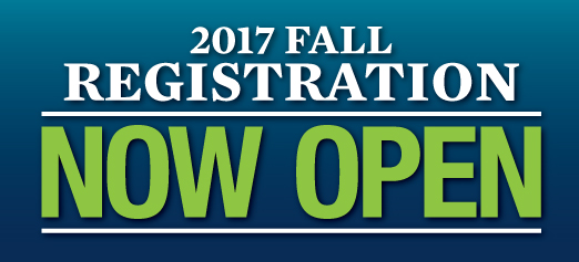 Fall 2017 Open Registration