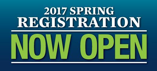 Spring 2017 Registration