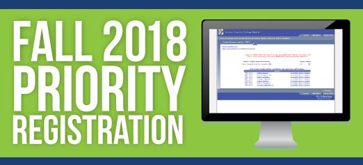 Fall 2018 Priority Registration