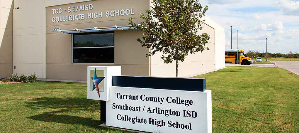 The new Early College High School at Southeast campus