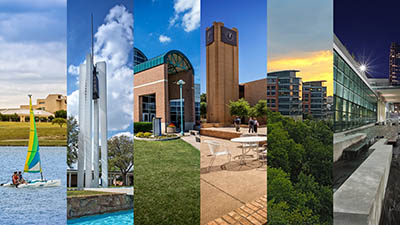 A collage of all 6 TCC campuses