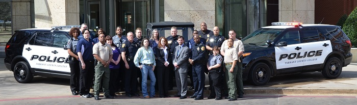 Picture of TCC Police staff